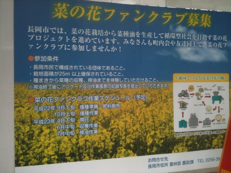 長岡市の新しいプロジェクト